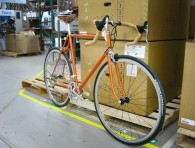 Dormant Orange (powder), Full assembly w/ Campagnolo Athena build